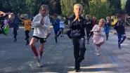 Leerlingen Kiliaan trekken jogging,  trainingsvest of tutu aan voor schooldag