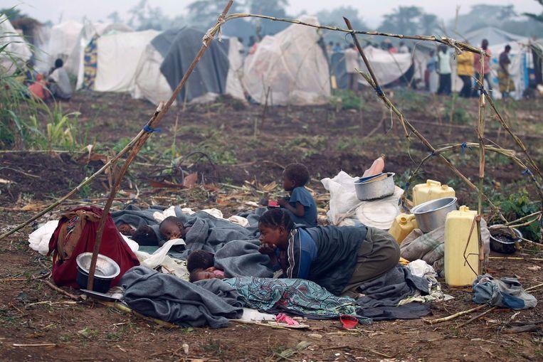 Congolese vluchtelingen. Beeld REUTERS