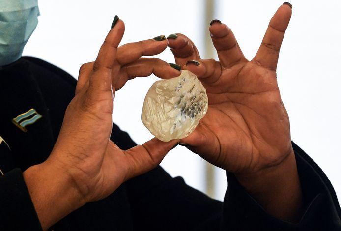 De diamant werd op 1 juni ontdekt.