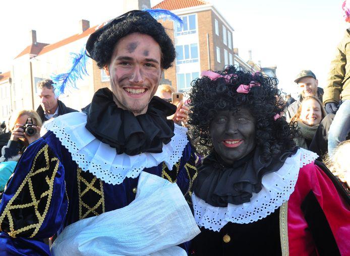 In 2018 liepen wel roetveegpieten mee in Middelburg. Die waren toen door de gemeente uitgenodigd.