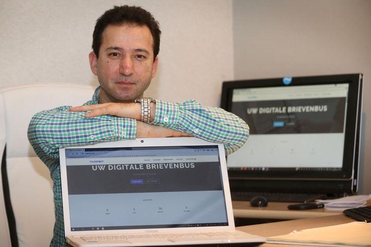 Masud Eshaghzey, de uitvinder van Tildepost.