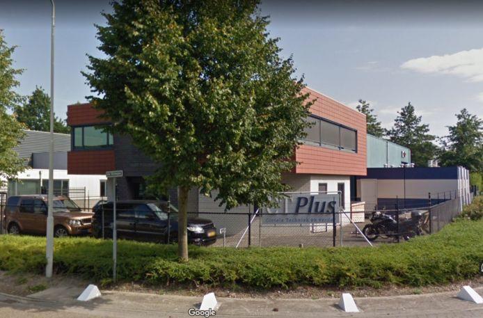 Toenmalig kantoorpand van CT Plus aan de Scheper in Oirschot