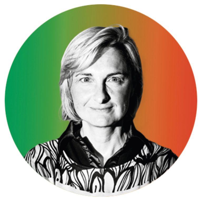 Hilde Crevits: 'School en ouders zie ik als partners. Samen kunnen we bruggen bouwen.' Beeld rv