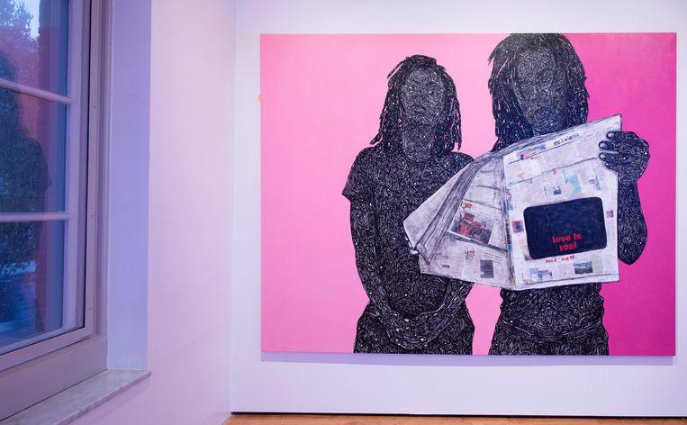 In Refresh Amsterdam, een online tentoonstelling op de website van het Amsterdam Museum, geven 25 kunstenaars hun blik op de hoofdstad. Beeld Amsterdam Museum