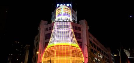 Lichttoren is favoriet bij bezoekers van Glow in Eindhoven