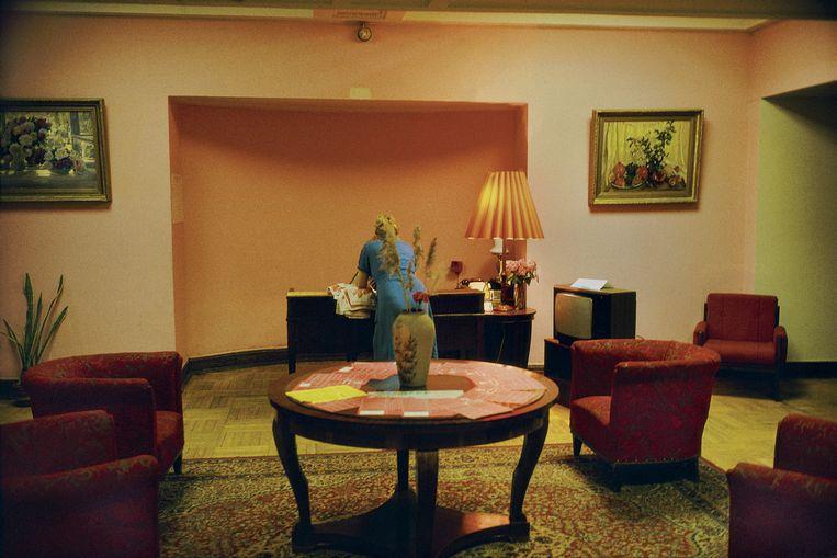 Russia. Ukraine Hotel. 1989. Beeld Harry Gruyaert