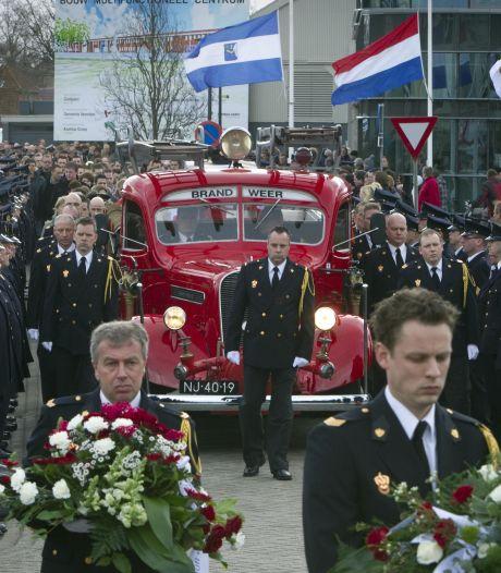 Apeldoorner na elf jaar gearresteerd voor brand waarbij brandweerman Wiebe omkwam