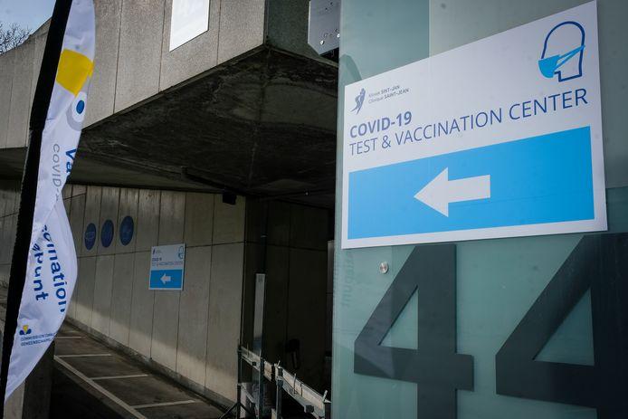 Le centre Pacheco est réservé aux soignants de première ligne.