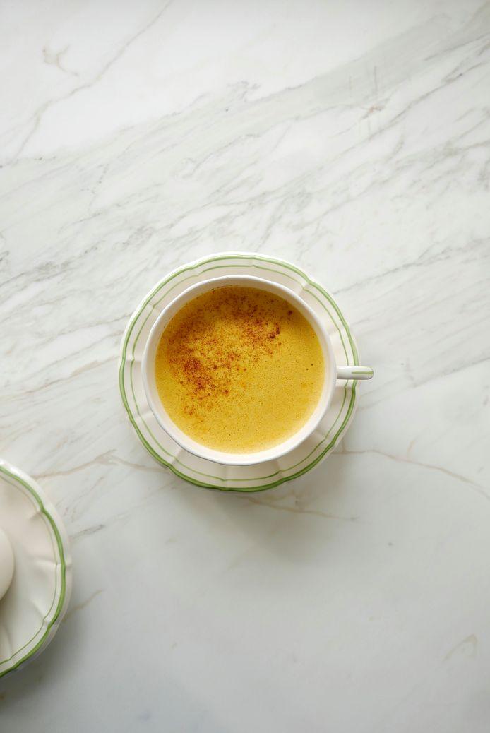 Golden milk.