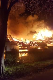 Brand verwoest voormalig restaurant Axel