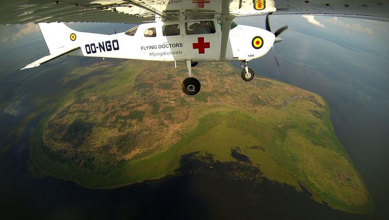 'Flying Doctors' op Eén. Beeld VRT