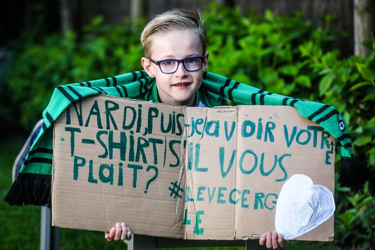 Varsenare Cercle fan Thomas Van Goethem wil shirt van Nardi bekomen