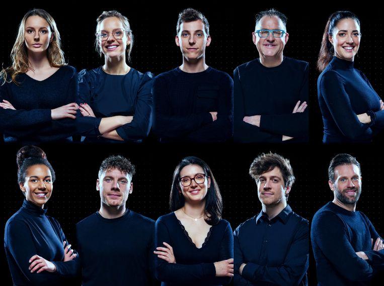 Deze kandidaten wagen hun kans in het nieuwe seizoen van 'De Mol'. Beeld PLAY4