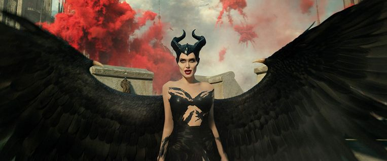 Angelina Jolie in 'Maleficent: Mistress of Evil Beeld Photo News