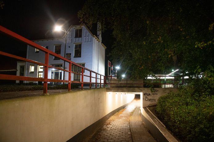 Een enge plek: zo noemen inwoners van Vroomshoop het plaatselijke station. Vanwege hangjongeren, die zich er vaak ophouden.