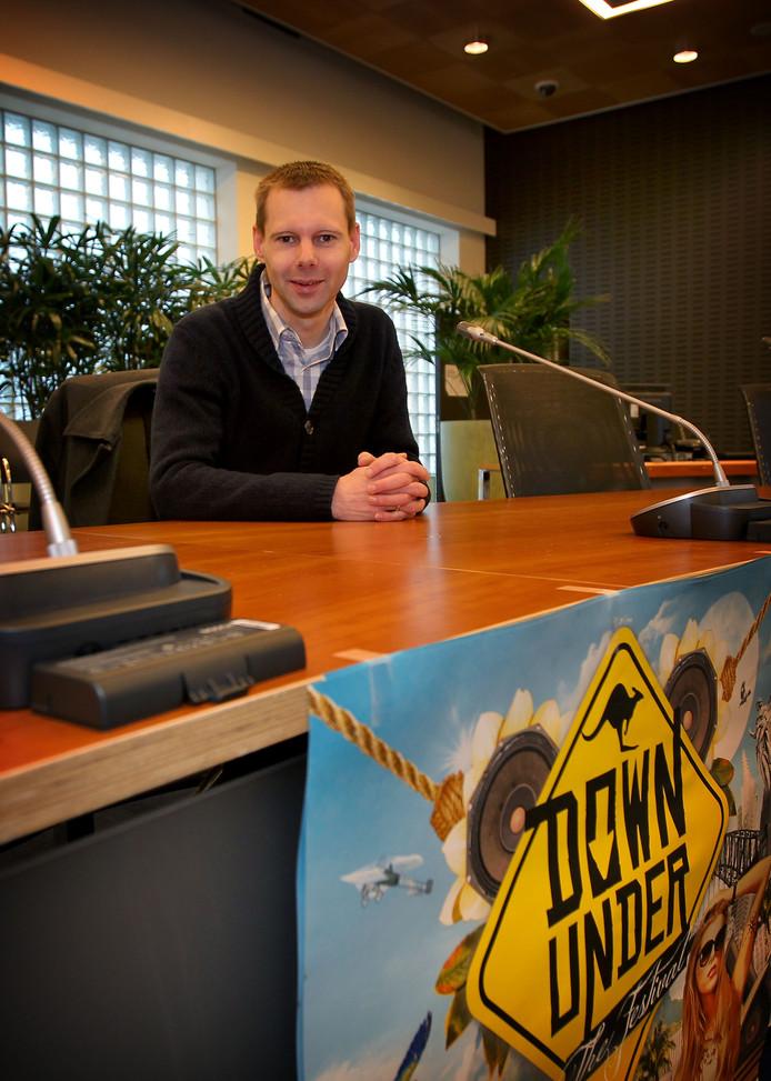Jeroen Rooijakkers, nieuwe wethouder financiën en duurzaamheid van Veldhoven.