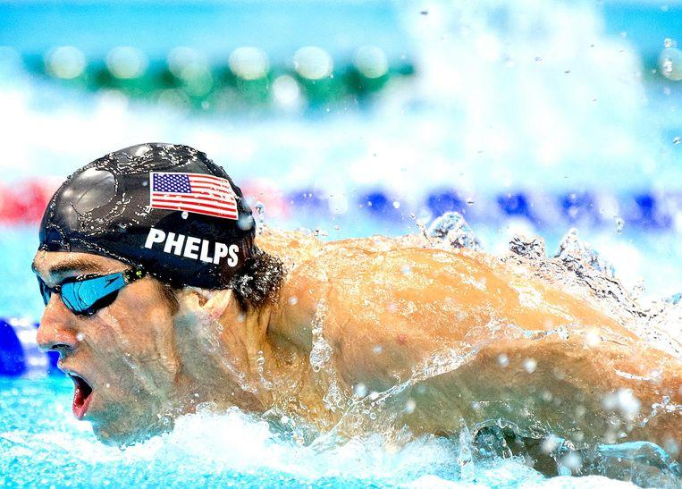 Michael Phelps Beeld Klaas Jan van der Weij