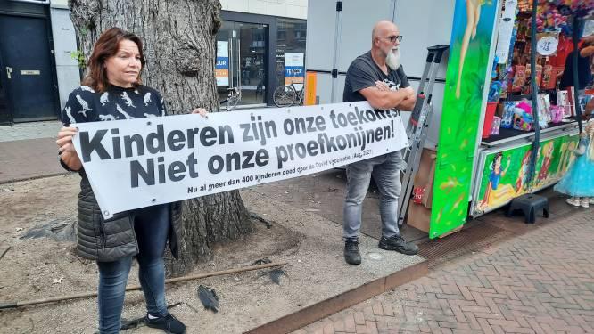 Hengelose burgemeester tolereert vaccinatie-protest op kermis