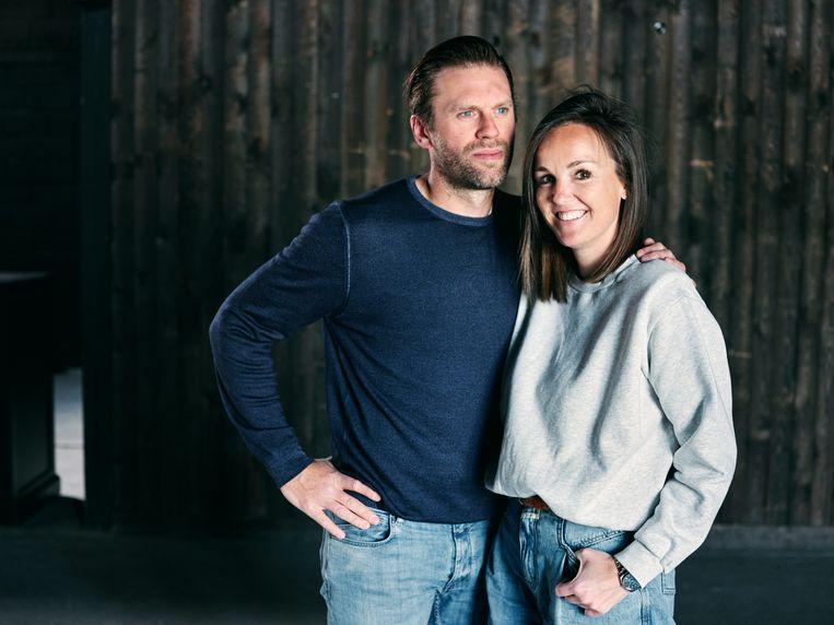 Sven Uyttersprot en Charlotte Mathias. Beeld Joris Casaer