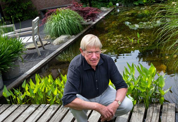 Peter Kemper, op archieffoto. De voormalig PSV'er bleef na zijn loopbaan sporten en was ook veel actief op de racefiets.
