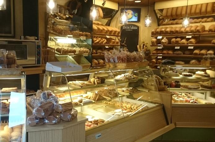 De bakkerij van Antoine Lako.
