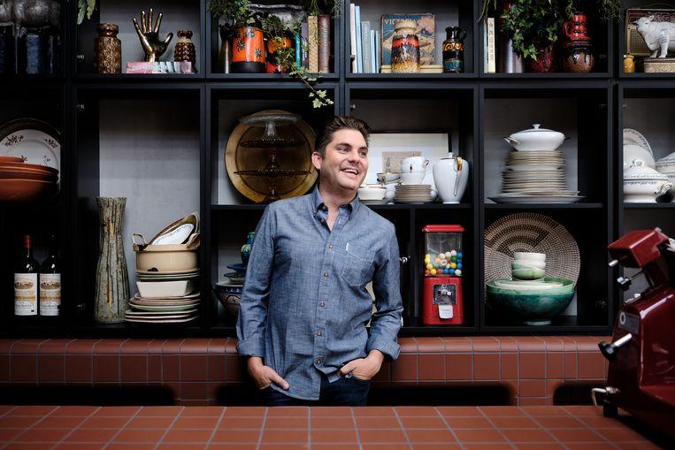De nieuwe keuken van 'Dagelijkse Kost' op Eén. Beeld VRT