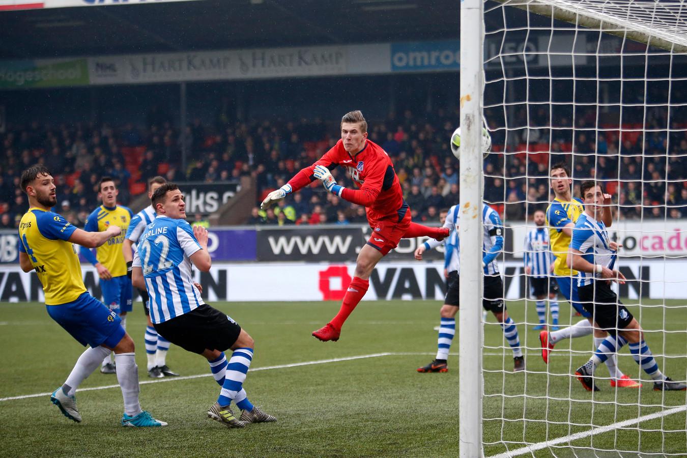 Thomas Hooyberghs in actie namens FC Eindhoven.