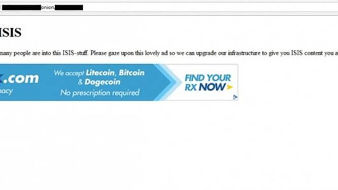 Anonymous zet Prozac-advertentie op IS-site