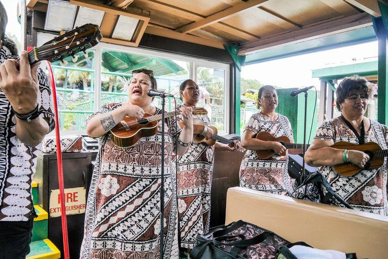 Smith's Wailua River cruise. Beeld Anne-Gine Goemans