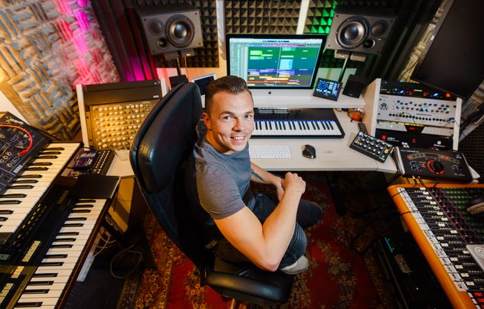 Producer Wouter Hardy