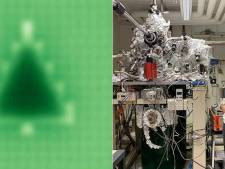 Deze Delftse student maakte de kleinste kerstboom ter wereld