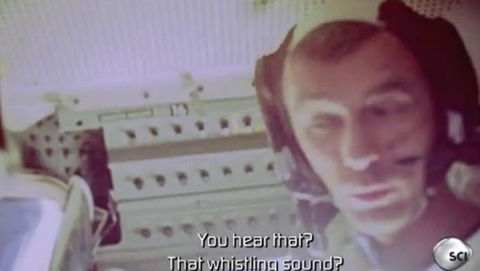 """L'émission """"Nasa's Unexplained Files (""""Les dossiers inexpliqués de la NASA"""") s'est procurée ces images rares dont les bandes avaient été classifiées par la Nasa jusqu'en 2008."""