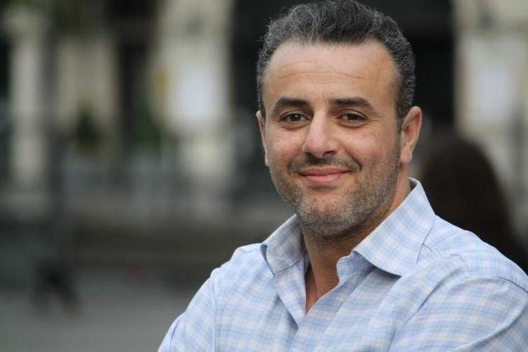 Hassan Aarab stapt uit CD&V na de heisa. Beeld rv