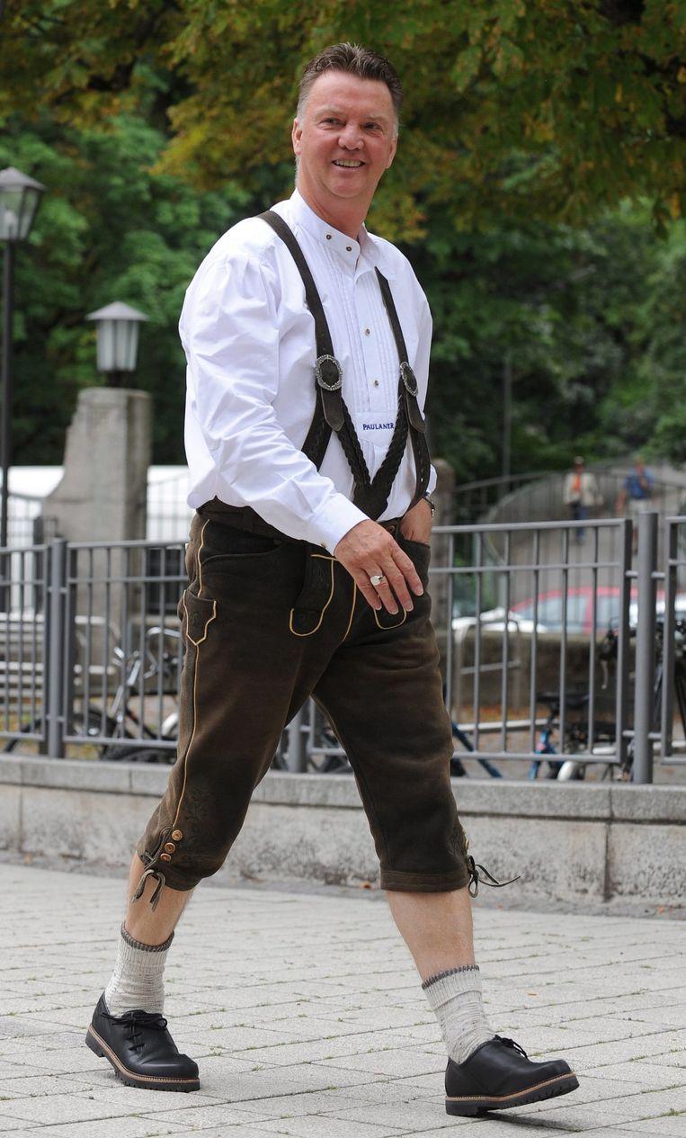 Voor van Gaal zit zijn Beiers avontuur erop. Beeld EPA