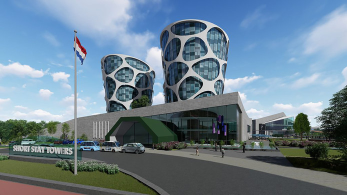 Ampressie van de campus zoals Lithium Werks, die op Technobase Twente wilde bouwen.