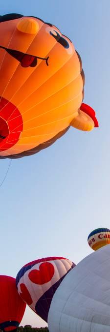 Wie deze lente omhoog kijkt ziet weer luchtballonnen en (soms) hun bijzondere landingen: mogen we mee?
