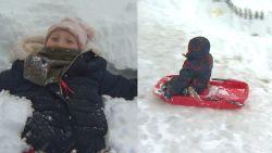 Eerste sneeuwpret in Hoge Venen, ideaal in krokusvakantie