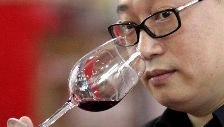 TWE doet goede zaken in opkomend wijnland China. Beeld REUTERS