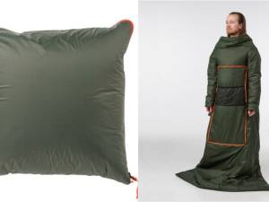 Ikea imagine un coussin qui se transforme en manteau (et on adore)