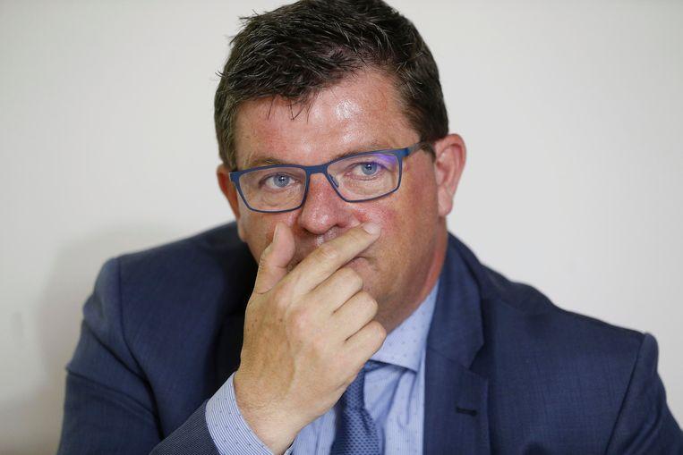 Minister Bart Tommelein (Open Vld). Beeld BELGA