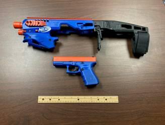 Als Nerf-speelgoedwapen verhuld pistool in beslag genomen bij drugsraid