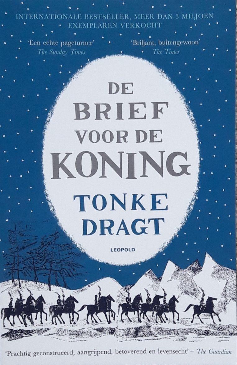 Ontwerp Nathan Burton, illustratie Tonke Dragt. Uitgeverij Leopold/ Geef een boek cadeau!, 2021. Beeld