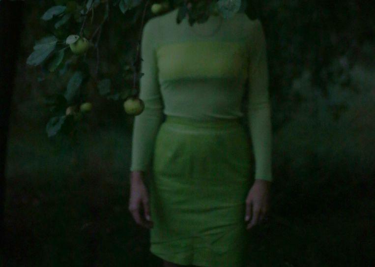 Foto van Lara Gasparotto op de expo in Stieglitz 19. Beeld Lara Gasparotto