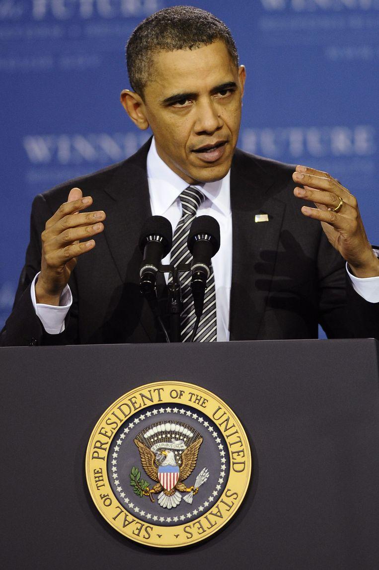 Barack Obama. Beeld EPA