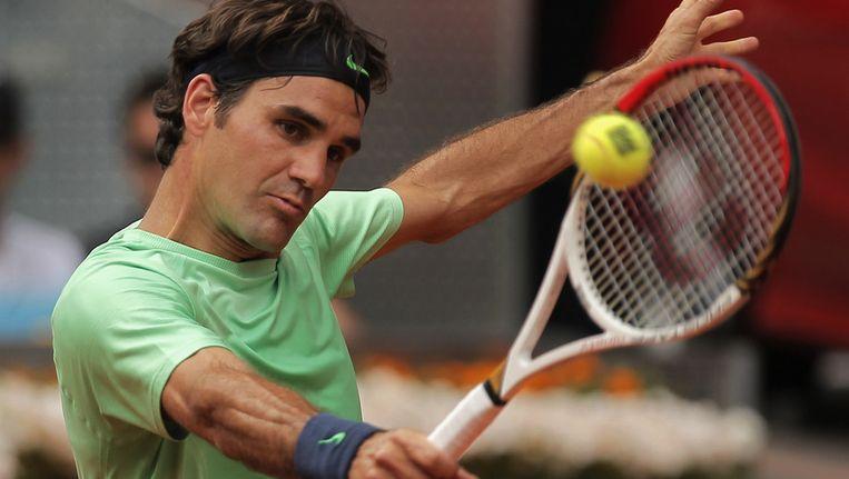 Roger Federer. Beeld ap