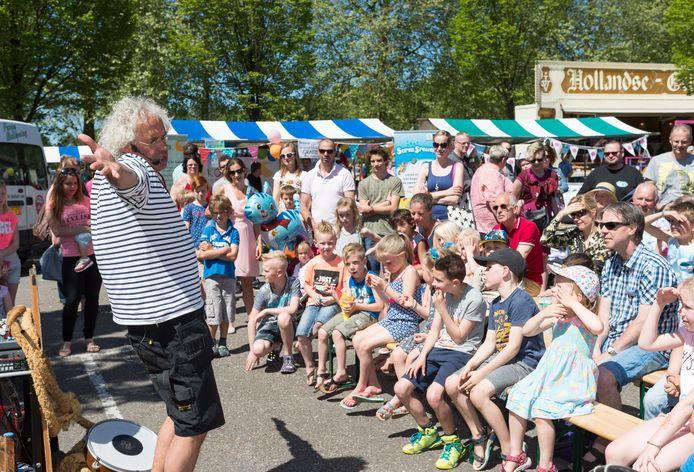 Vaasaqua trekt altijd veel publiek.