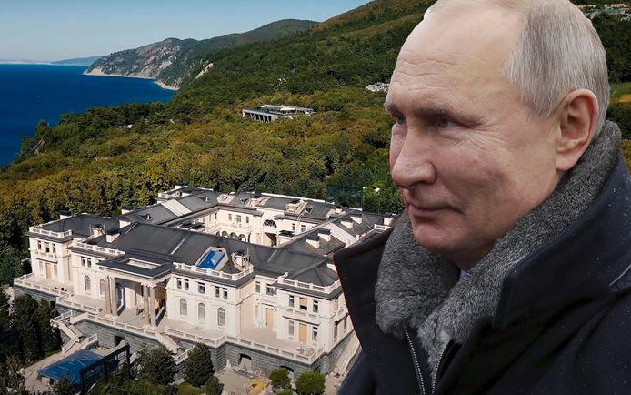 """Volgens het Kremlin is het """"geheime paleis"""" niet van Poetin maar van ondernemers."""