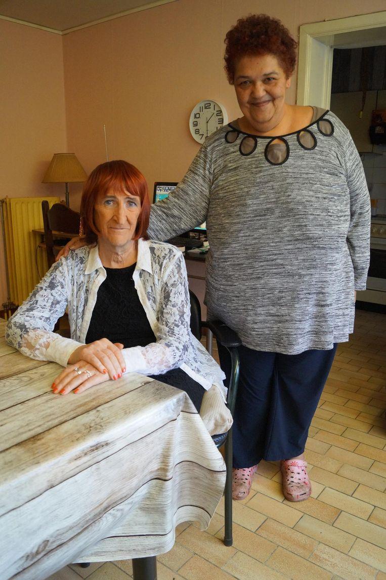 Rudwina Denolf (56) en echtgenote Judy Bourne (51). Drie jaar geleden stapten ze in het huwelijksbootje.