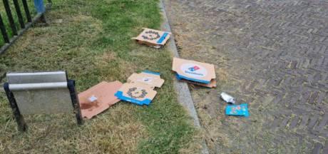 Koningskleigat in Hengelo ligt vol pizzadozen, omwonenden zijn het zat