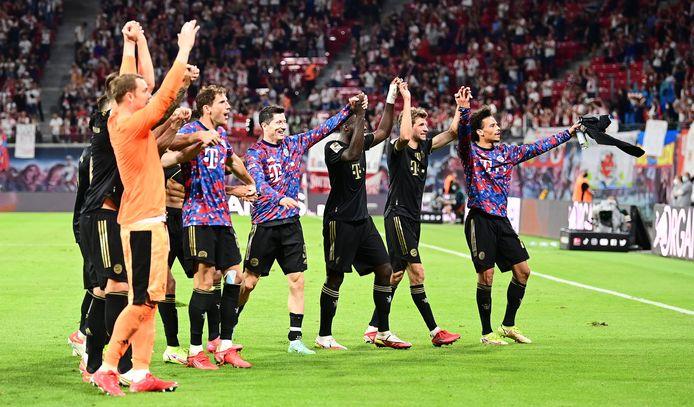 Le Bayern n'a pas fait de cadeau à son dauphin de la saison dernière.